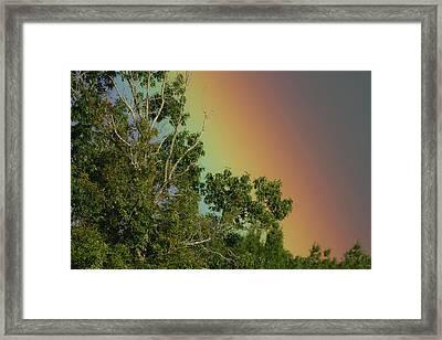 Rainbow 9-16-2016 Framed Print