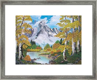Framed Print featuring the painting Nature's Beauty by Sharon Duguay