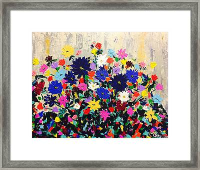Natures Bouquet  Framed Print
