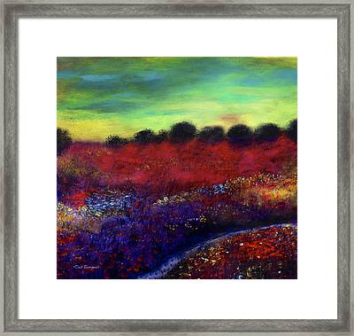 Natures Bouquet Framed Print by Dick Bourgault