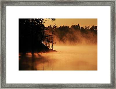 Nature's Breath Framed Print