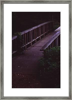 Nature's Bridge Framed Print by Randy Muir