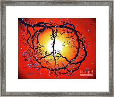 Nature's Bright Peace Framed Print