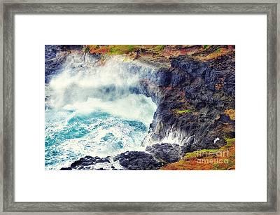 Natures Cauldron Framed Print by Blair Stuart