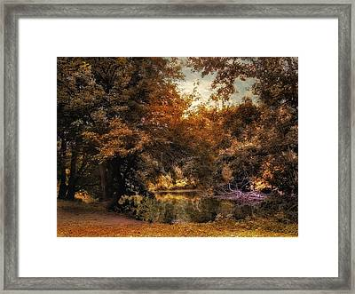 Nature's Chaos Framed Print by Jessica Jenney