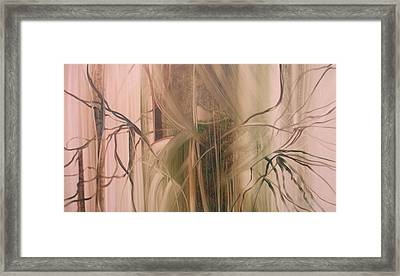 Nature's Cry Framed Print by Fatima Stamato