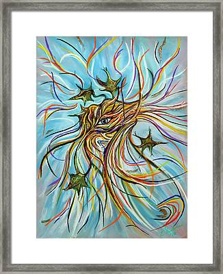 Nature's Eye Framed Print