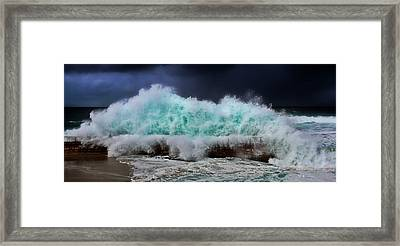 Nature's Fury Framed Print