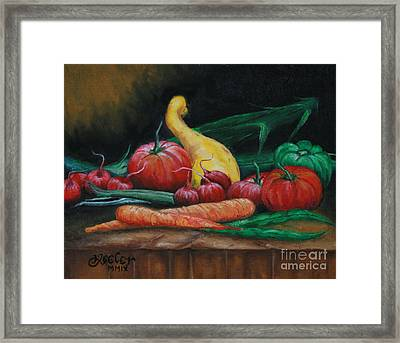 Natures Gift Framed Print by Christopher Keeler Doolin