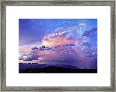 Natures Glory Framed Print by Leland D Howard