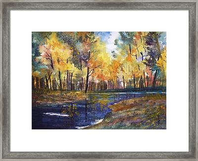 Nature's Glory Framed Print by Ryan Radke