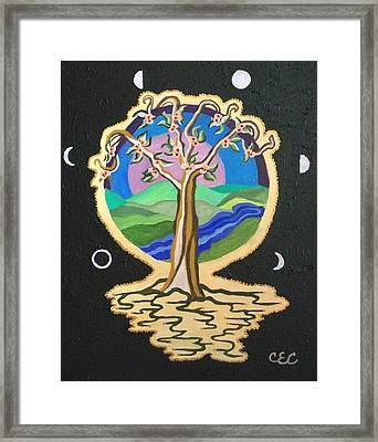 Natures Guardian Framed Print by Carolyn Cable