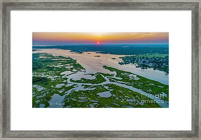 Framed Print featuring the photograph Natures Hidden Lines by Michael Hughes