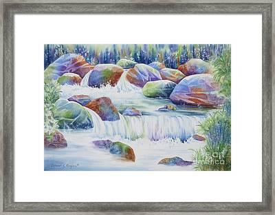 Nature's Jewel Framed Print by Deborah Ronglien