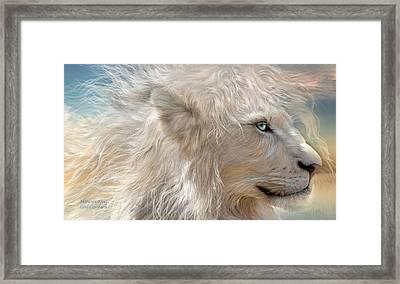 Nature's King Framed Print