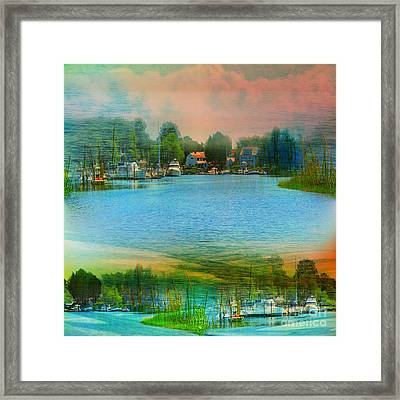 Nature's Magical Sunsets Framed Print by Judy Palkimas