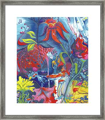Natures Overature Framed Print