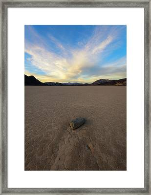 Framed Print featuring the photograph Natures Pace by Mike Lang