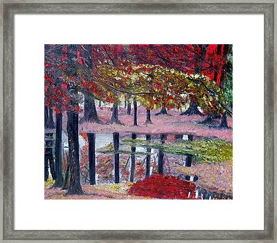 Natures Painting Framed Print