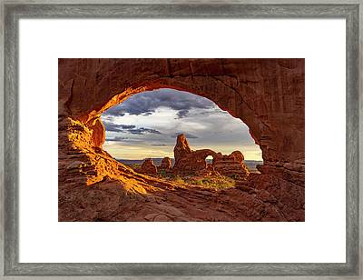 Natures Picture Frame Framed Print