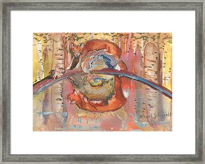 Nature's Reflection Framed Print