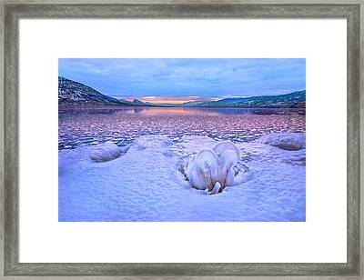Framed Print featuring the photograph Nature's Sculpture by John Poon