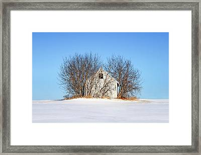 Nature's Shed Framed Print by Todd Klassy