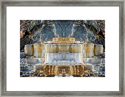 Framed Print featuring the photograph The Throne by Robert Pearson