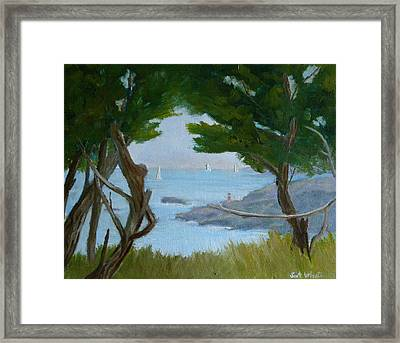 Nature's View Framed Print