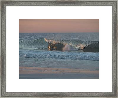 Framed Print featuring the photograph Natures Wave by  Newwwman