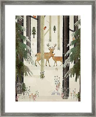 Natures Way The Deer Framed Print