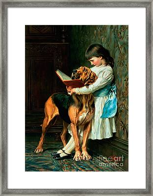 Naughty Boy Or Compulsory Education Framed Print