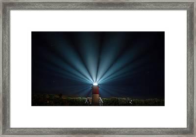 Nauset Beach Light Framed Print by Bill Wakeley