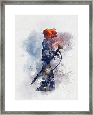 Nausicaa Framed Print by Rebecca Jenkins