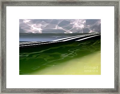 Framed Print featuring the photograph Nautical Abstract by Robert Riordan