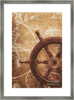 Nautical Exploration  Framed Print