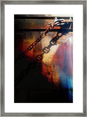 Nautical Industrial Art Framed Print