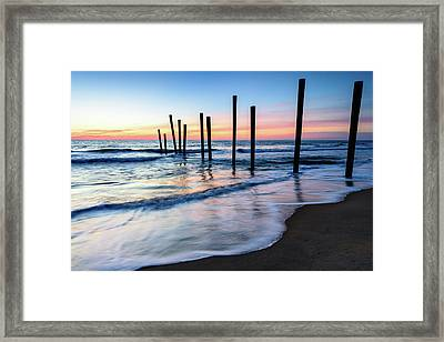 Nautical Morning Framed Print