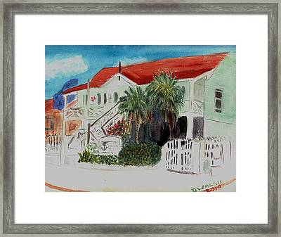 Nautical Museum Georgetown Framed Print by Donna Walsh