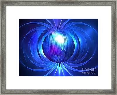Nautical Proton Framed Print