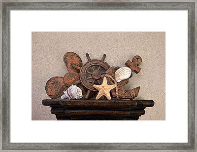 Nautical Still Life IIi Framed Print by Tom Mc Nemar