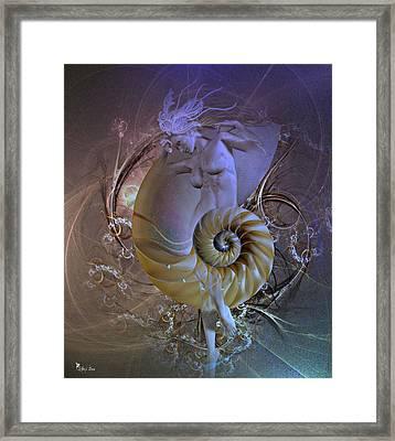 Nautilus The Sea Serpent 2 Framed Print