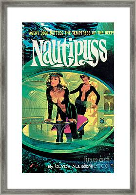 Nautipuss Framed Print by Robert Bonfils