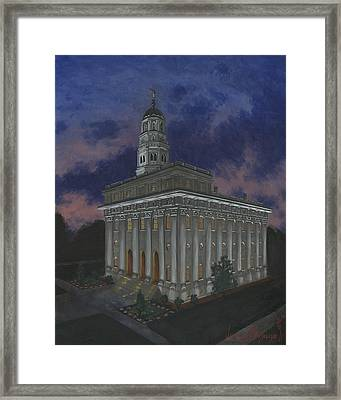 Nauvoo Sunset Framed Print by Jeff Brimley