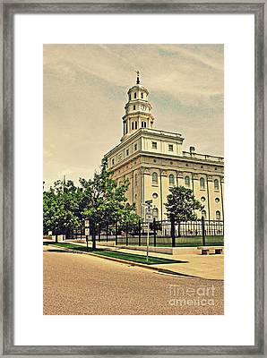 Nauvoo Temple Framed Print