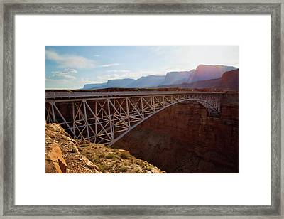 Navajo Bridge Framed Print