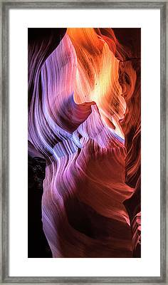 Navajo Flame - Www.thomasschoeller.photography Framed Print by Thomas Schoeller