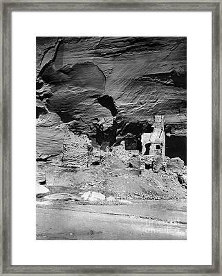 Navajo Ruins, C1907 Framed Print