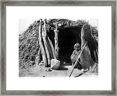 Navajo Woman, C1901 Framed Print