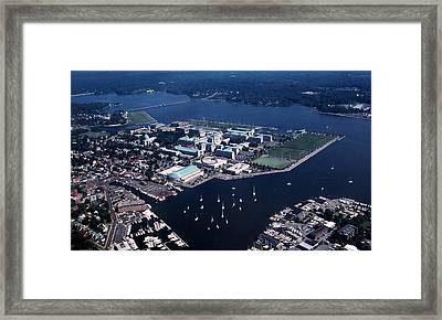 Naval Academy Framed Print by Skip Willits